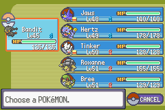 Pokemon Emerald 386 - Character Profile  - after 6th gym - User Screenshot