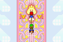 Mario & Luigi - Superstar Saga - Poor Luigi, Mario always drags him into thing - User Screenshot