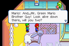 Mario & Luigi - Superstar Saga - The most accurate name for Luigi - User Screenshot