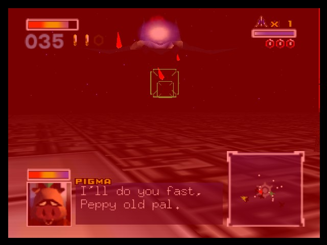 Star Fox 64 - oh? good to know pigma! - User Screenshot
