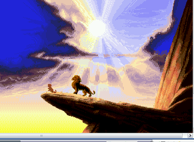 Lion King, The - Everything the light touches is Sega. - User Screenshot