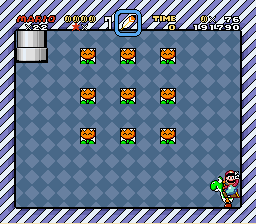 Super Mario World - Level  - 9 free guys - User Screenshot