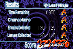 Naruto - Ninja Council 2 - Misc  - My high score - User Screenshot