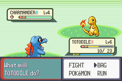 Pokemon Rebirth - Battle  - I wish I had a Poke Ball. - User Screenshot