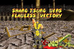 Mortal Kombat - Tournament Edition -  - User Screenshot