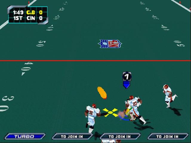 NFL BLITZ 2000 CHEATS