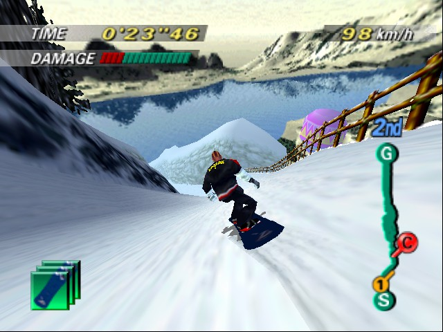 1080 Snowboarding - Level  - alright okay - User Screenshot