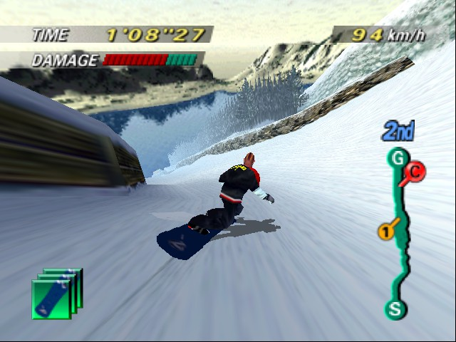 1080 Snowboarding - Level  - i keep crashing when i jump.... - User Screenshot