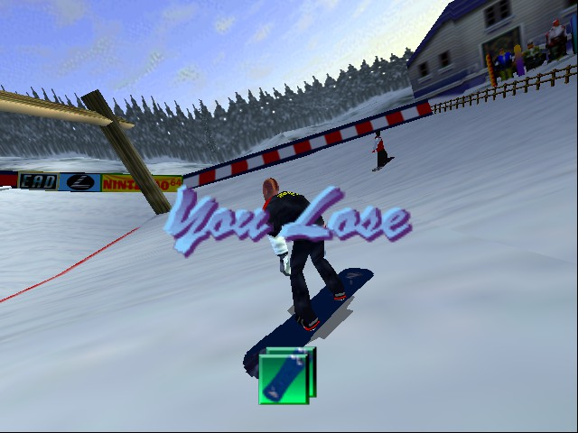 1080 Snowboarding - Level  - YAH I KNOOOWWW - User Screenshot