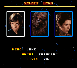Super Star Wars - Return of the Jedi -  - User Screenshot
