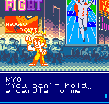 SNK vs. Capcom - The Match of the Millennium - -takes  out a lighter- will this do? XD - User Screenshot