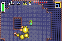 The Legend of Zelda - A Link to the Past & Four Swords - Battle  - Third Boss (during battle) - User Screenshot