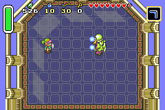 The Legend of Zelda - A Link to the Past & Four Swords - Battle  - Agahnim battle A (Third Boss) - User Screenshot
