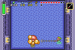 The Legend of Zelda - A Link to the Past & Four Swords - Battle  - Fifth Boss (during battle) - User Screenshot
