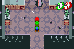 Mario & Luigi RPG - scary place entrance - User Screenshot