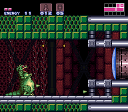 Super Metroid - The TRUE boss - User Screenshot