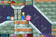 Kirby & the Amazing Mirror - a living kirby bomb - User Screenshot