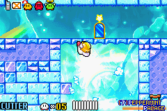 Kirby & the Amazing Mirror - flying duck kirby - User Screenshot