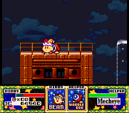 Kirby Super Star - beam bros - User Screenshot
