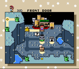 Super Mario World - Seceret to Bowser - User Screenshot