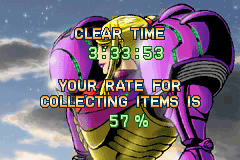 Metroid - Zero Mission - i suck - User Screenshot