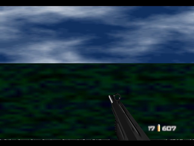 GoldenEye 007 - the water truns green cuz i pee ahhhhhhhhh - User Screenshot