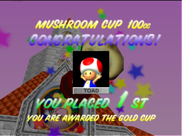 Mario Kart 64 - im  the best - User Screenshot