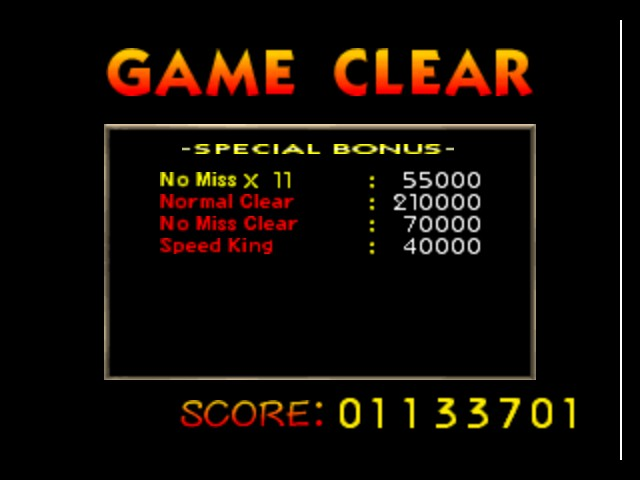 Super Smash Bros. - Ending  - Normal No-Miss Clear. Score: 1133701 - User Screenshot