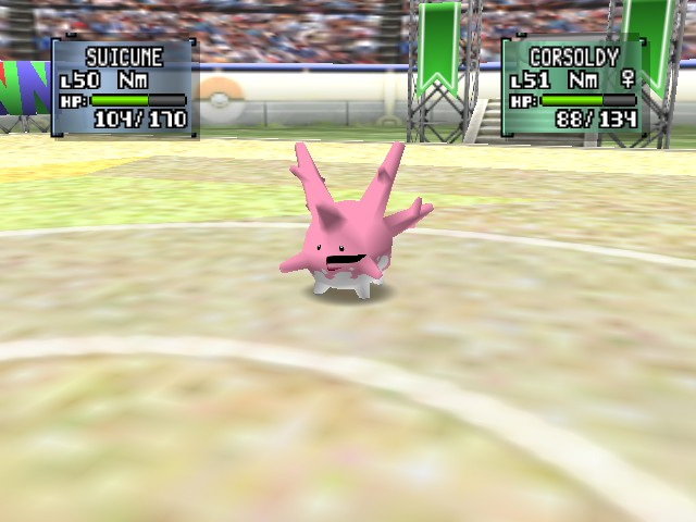 Pokemon Stadium 2 - Messed up face is messed up. - User Screenshot