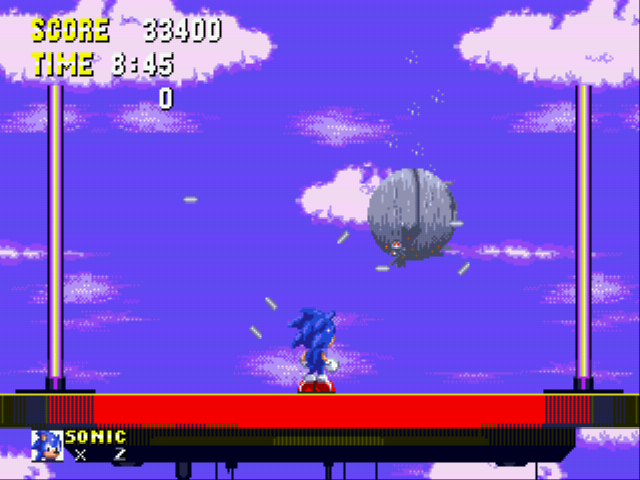 Sonic the Hedgehog 3 - Battle  - Awww yeah I finished Eggman without rings - User Screenshot