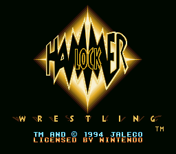 Hammerlock Wrestling - Menus Title Screen -  - User Screenshot