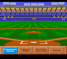 Hardball III - Mode Select  -  - User Screenshot