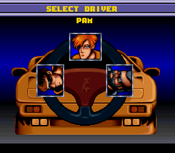 Lamborghini - American Challenge - Character Select  -  - User Screenshot