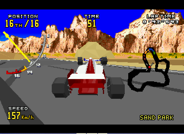 Virtua Racing Deluxe - Need flaps... ^^ - User Screenshot