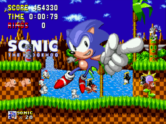 Sonic 1 Megamix (v3.0) - Game Finished - User Screenshot