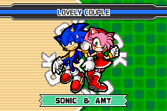 Sonic Advance 3 - They should get married - User Screenshot