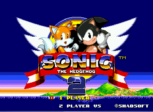 Sonic 2 - Project Shadow - starting @ night - User Screenshot