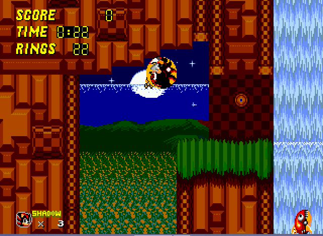 Sonic 2 - Project Shadow - i peed my self..and i went around with me - User Screenshot