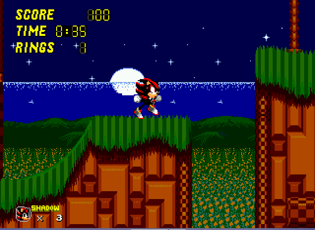 Sonic 2 - Project Shadow - every night im shufflling - User Screenshot