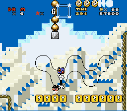 Super Dr. Mario World - Mickey Mouse is behind you! - User Screenshot