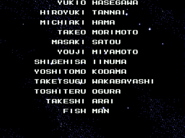 Mega Man - The Wily Wars - Ending  - Who