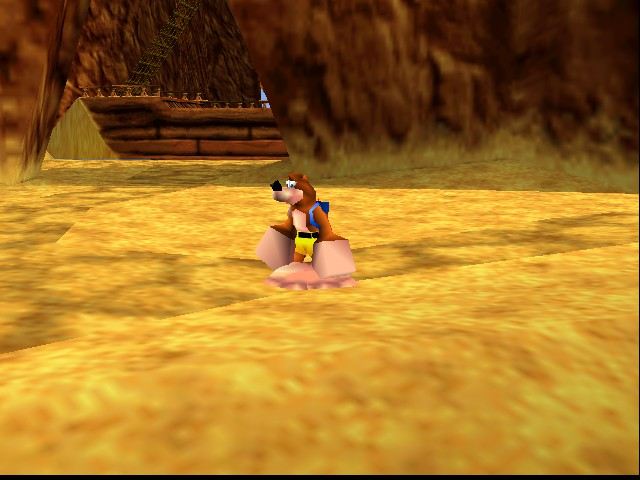 Banjo-Kazooie - WTF I HAVE BIG ARMS AND LEGS - User Screenshot