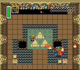 Zelda 3 - Goddess of Wisdom - I hate you and your flying bats! - User Screenshot