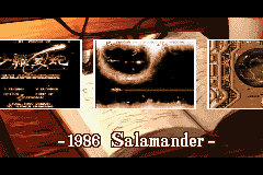 Gradius Galaxies - 1986: Salamander... - User Screenshot