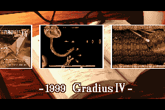 Gradius Galaxies - 1999: Gradius IV - User Screenshot