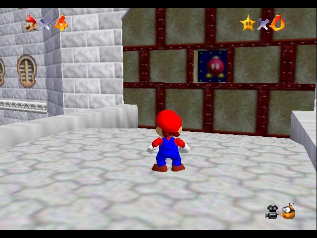 Kaizo Mario 64 - :| This is not gonna be easy.... - User Screenshot