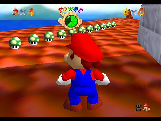 Kaizo Mario 64 - 11 1ups!!! - User Screenshot