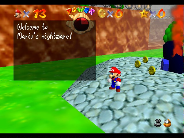 Kaizo Mario 64 - uh-oh - User Screenshot
