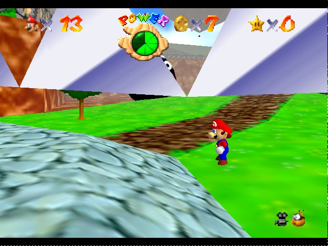 Kaizo Mario 64 - Welcome too Chain Chop Battlefield.... - User Screenshot