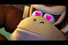 Mario vs. Donkey Kong - DK is in-love with the toy! - User Screenshot